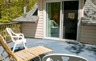The Eagle's Nest master suite private sundeck