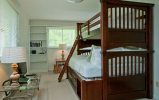 Falun House bunk room – double on the bottom, twin on top