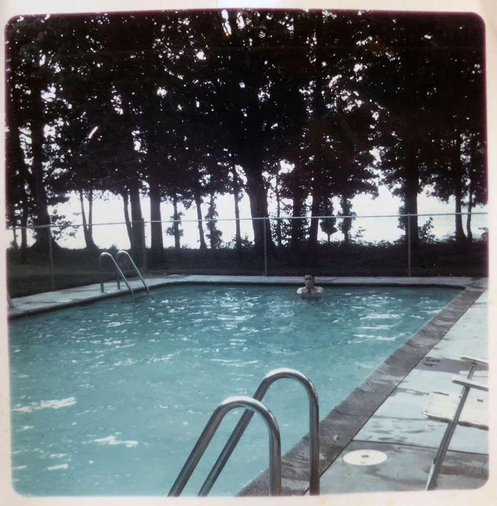 Pool image from the 1960s