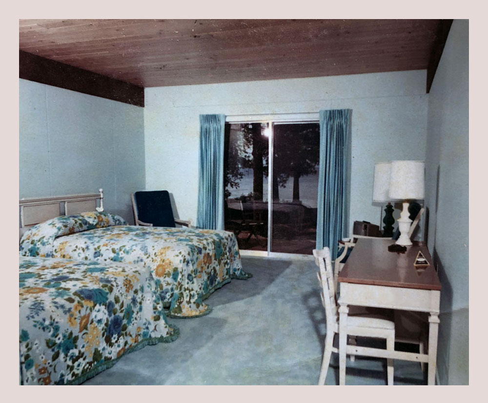 Interior room image from the 1950's