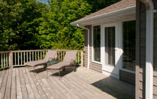 West Ridge full deck and screened-in porch