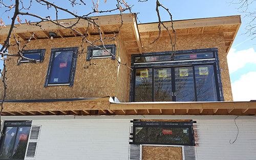 Home Construction with Work Done by Remodeling Contractors