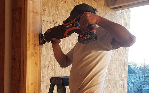 Professional Working on Local Handyman Jobs