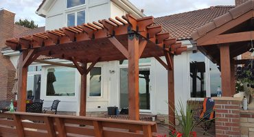 Finished Pergola by Handyman Golden CO