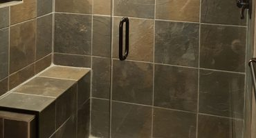 Finished Tile Work During Bathroom Remodeling Colorado