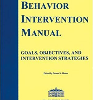 Behavioral Intervention Manual