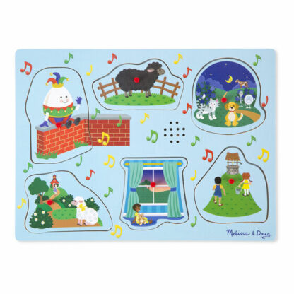 Sing-Along Nursery Rhymes Sound Puzzle - 737