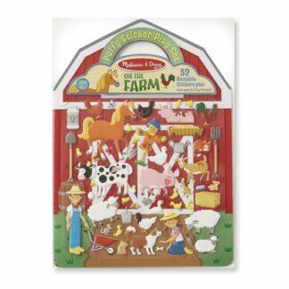 Puffy Sticker Play Set - On the Farm - 9408