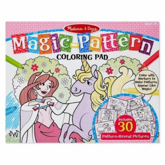 Magic-Pattern Marker Kids' Coloring Pad - Princesses, Ponies, Parties, and More - 9432