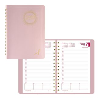 Pink Ribbon Daily Planner 2020