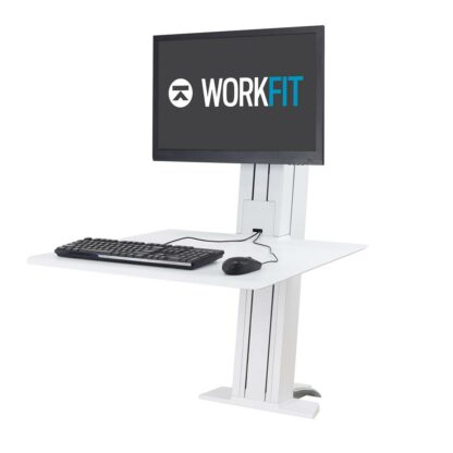 33-407-082 WorkFit-SR Dual Monitor White
