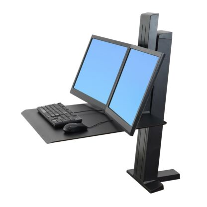 33-407-085 WorkFit-SR Dual Monitor Black 02