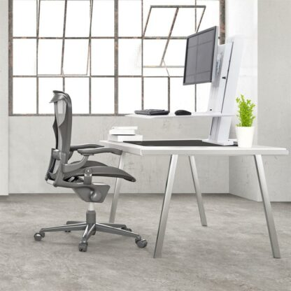 33-407-085 WorkFit-SR Dual Monitor White 03