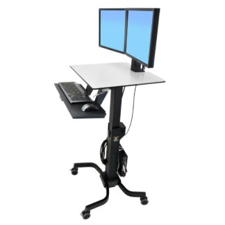 WorkFit-C Dual Sit Workstation