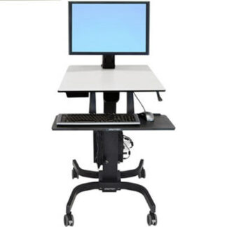 WorkFit-C Single HD Sit-Stand Workstation (24-216-085)