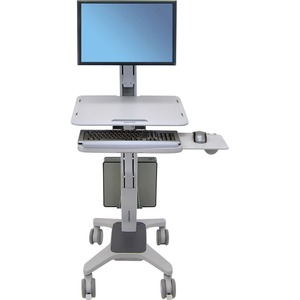 WorkFit-C Single LD Sit-Stand Workstation