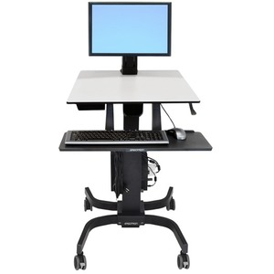 WorkFit-C Single LD SitStand Workstation