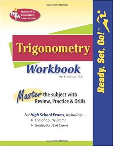 Trigonometry Workbook (Ready, Set, Go!)
