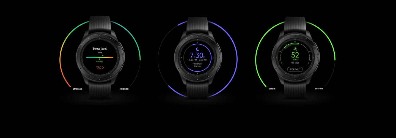 Samsung Galaxy Watch Balance Your Life