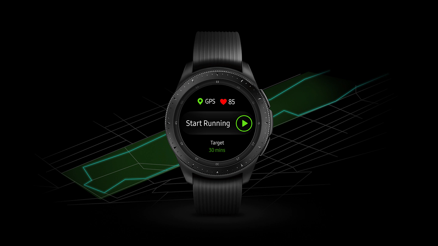 Samsung Galaxy Watch - Track More Than Ever