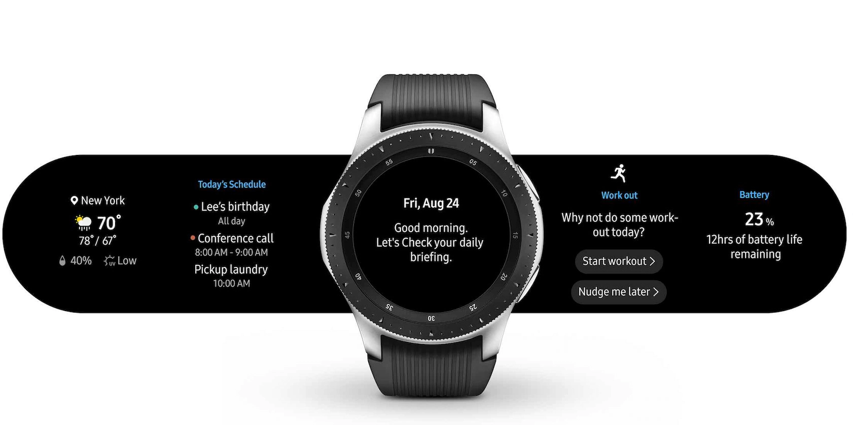 Samsung Galaxy Watch - Your Daily Run Dun