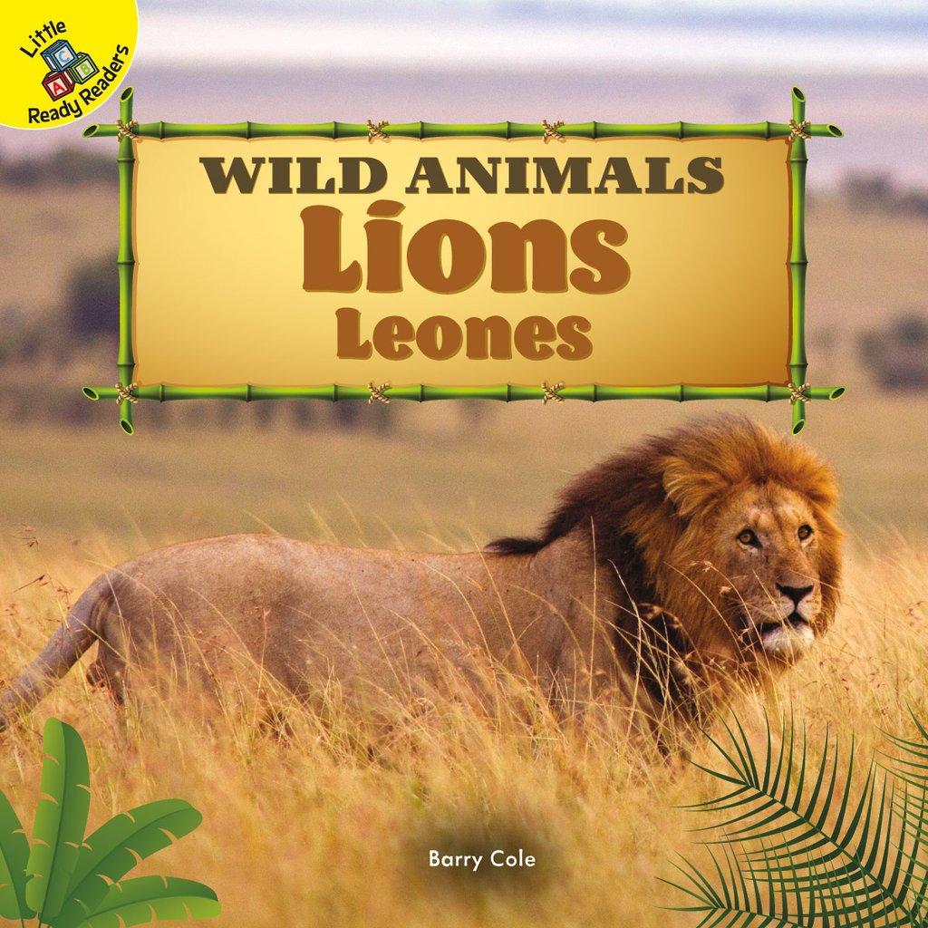Wild Animals:  Lions Leones (Board Books)