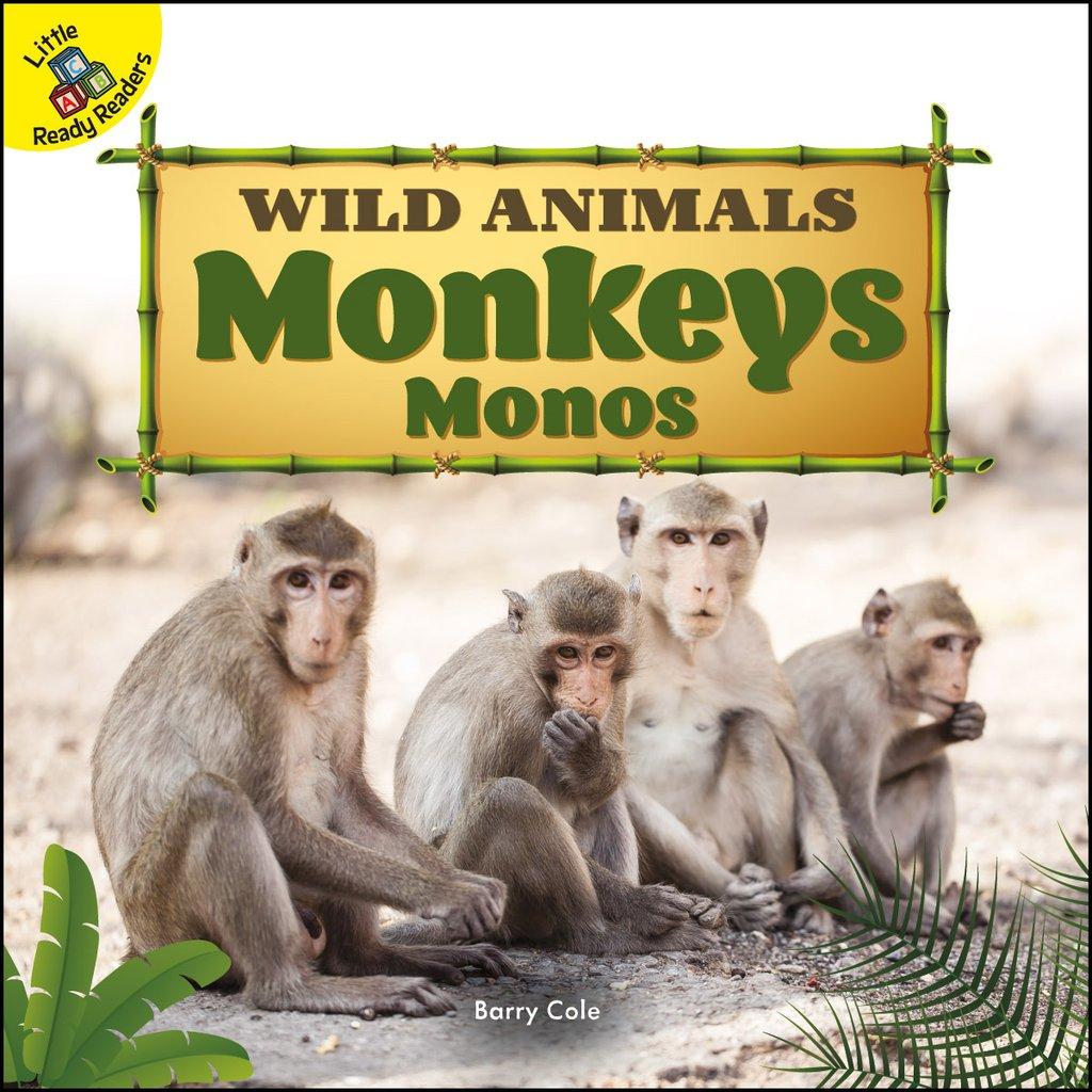 Wild Animals:  Monkeys Monos (Board Books)