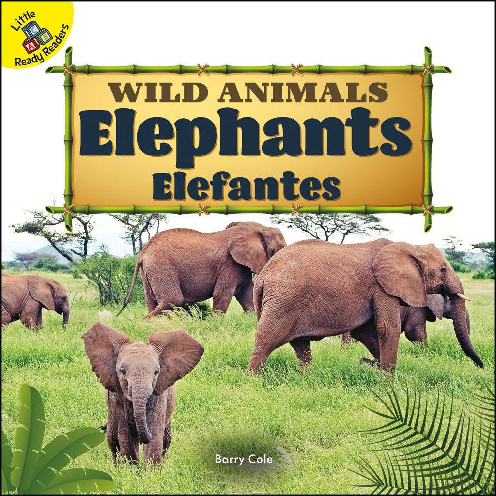 Wild Animals:  Elephants Elefantes (Board Books)