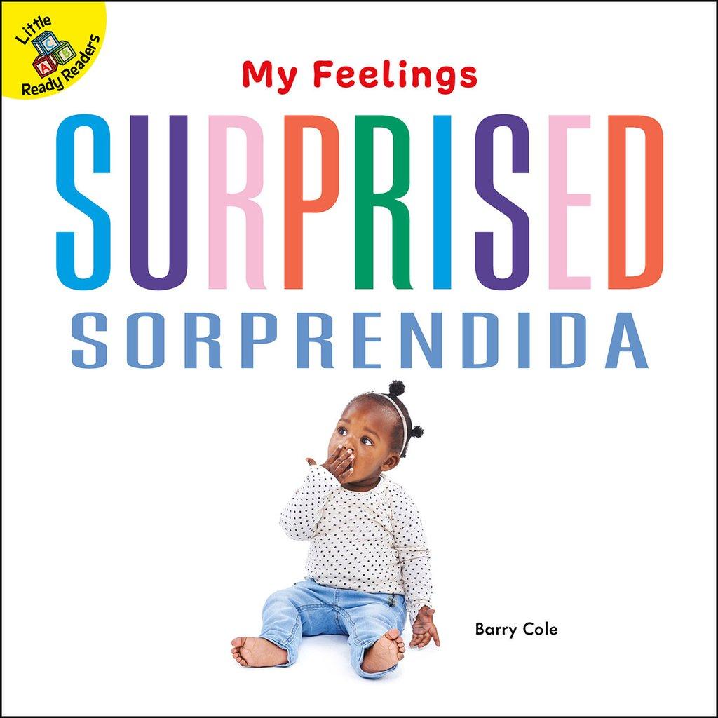 My Feelings:  Surprised Sorprendida (Board Books)