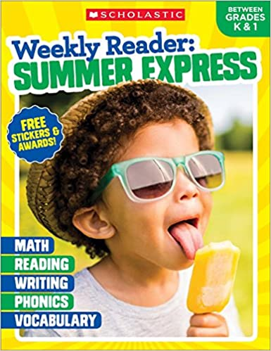 Weekly Reader: Summer Express (Between Grades K & 1) Workbook (Paperback)