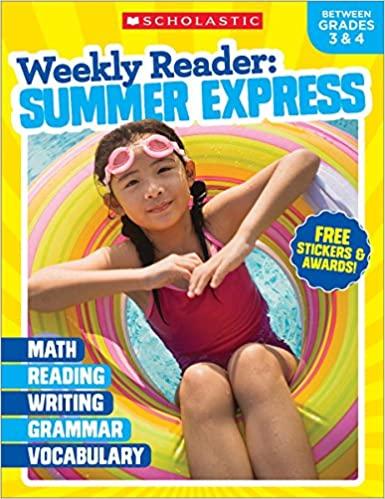 Weekly Reader: Summer Express (Between Grades 3 & 4) Workbook (Paperback)