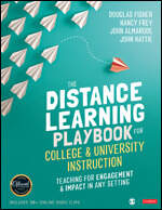 The Distance Learning Playbook for College & University Instruction [Teaching for Engagement & Impact in Any Settings]