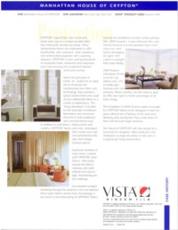 Interior furniture protection with window film treatment