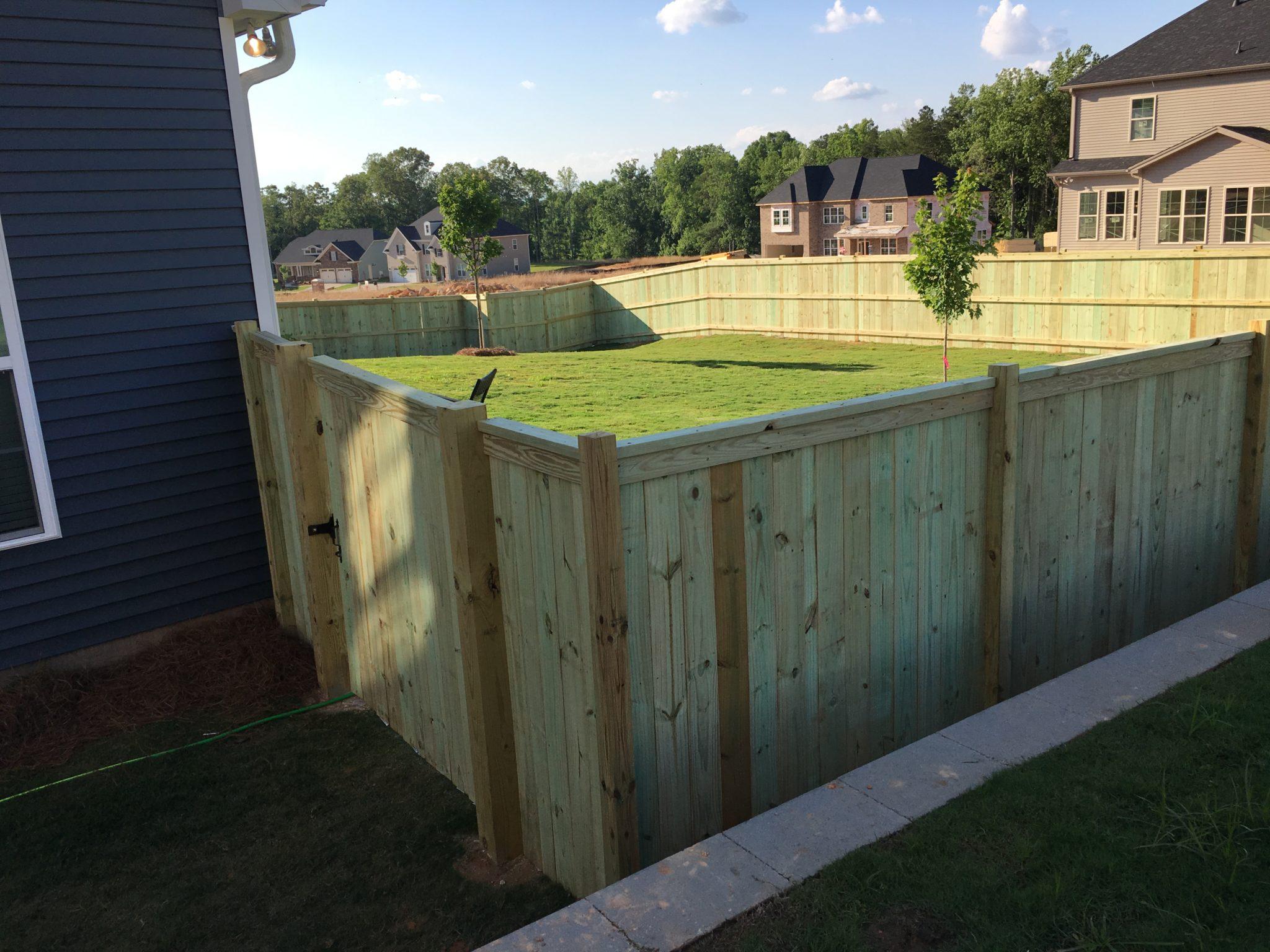 Charleston Wood Fence