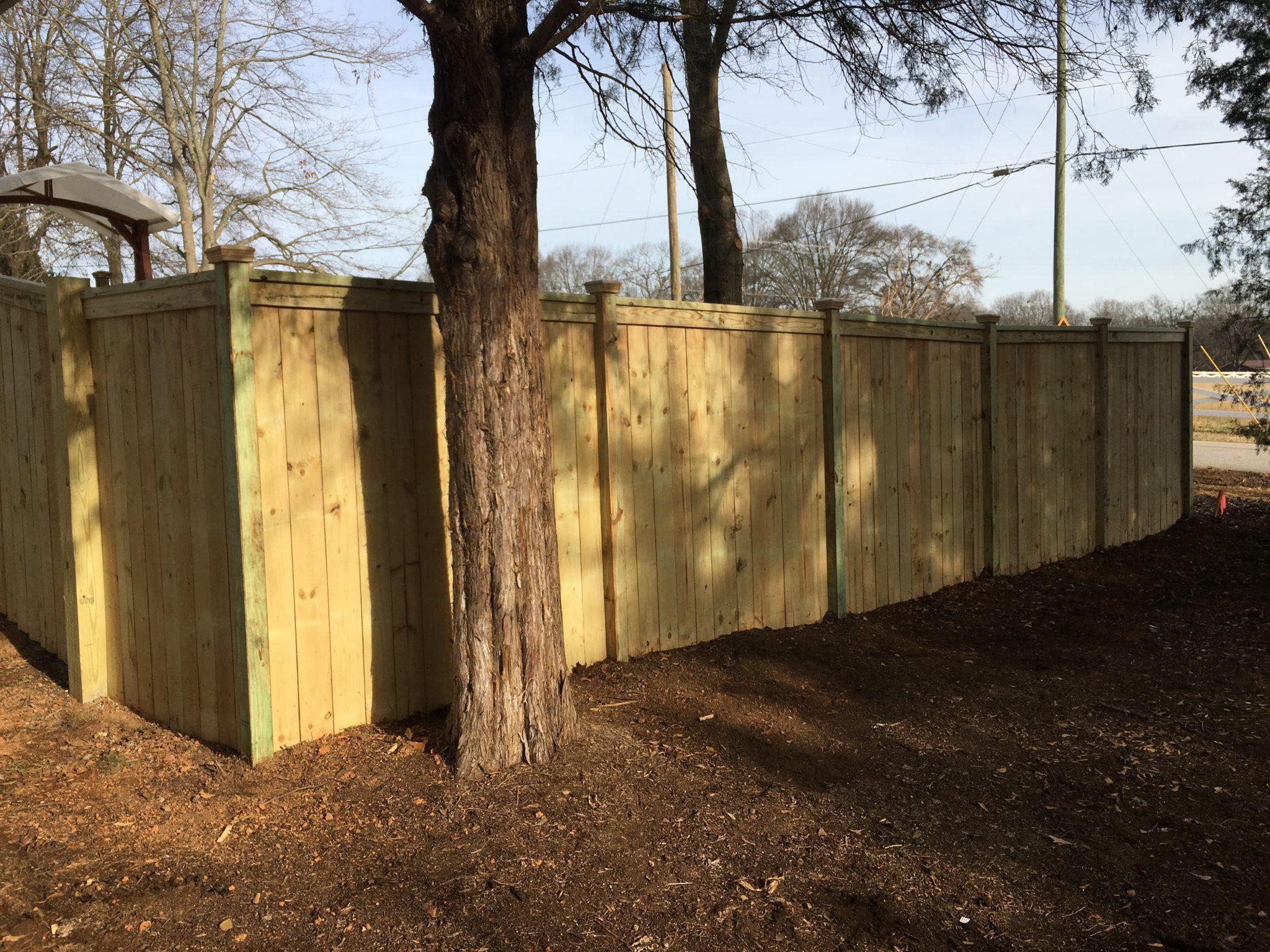 Charleston Fence Greenville SC