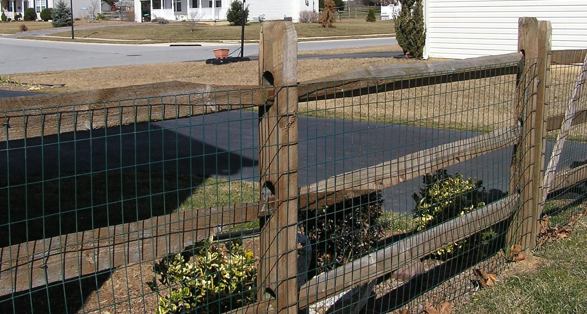 Pasture Wood Fence