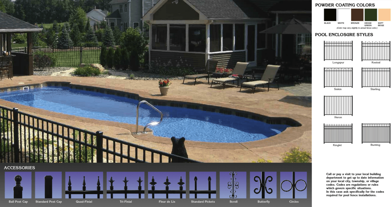Pool Aluminum Fence
