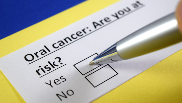 Oral cancer screening at Collegeville Gentle Dentist
