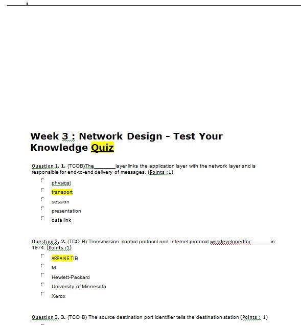 mis 589 week 3 quiz