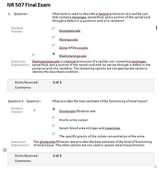 nr 507 final exam