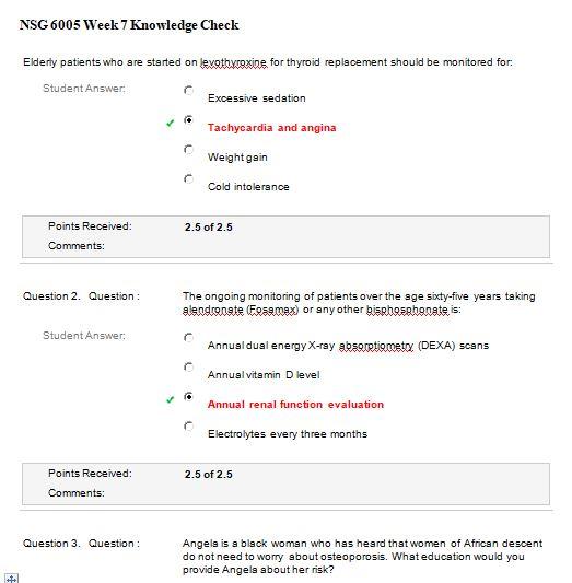 nsg 6005 week 7 quiz
