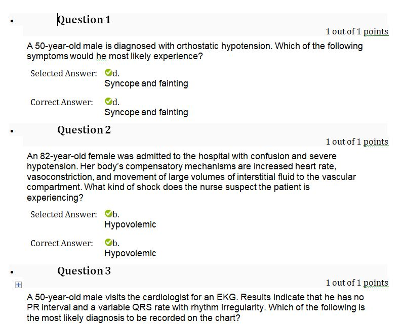 nurs 6501n week 4 quiz