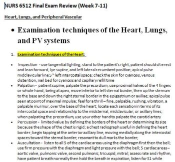 nurs 6512n final exam review