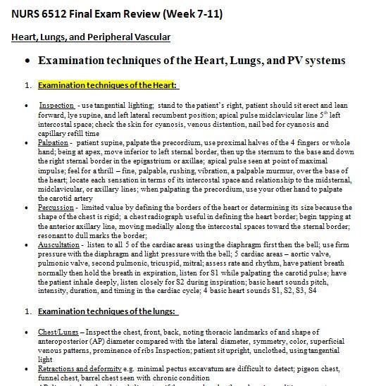 nurs 6512n final exam