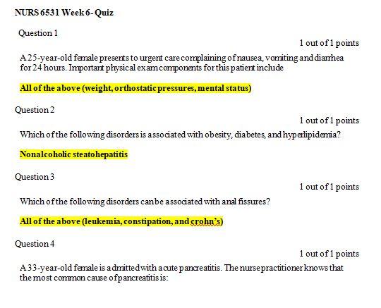 nurs 6531n week 6 quiz 3