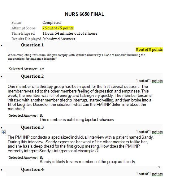 nurs 6650 final exam