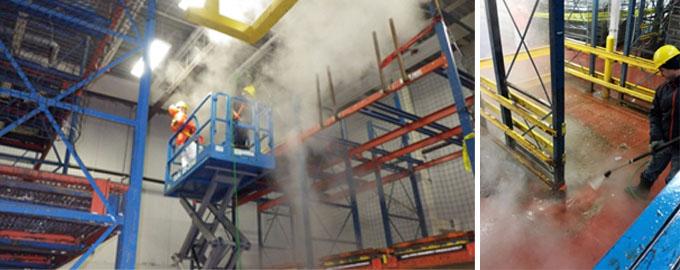 Food Plant Sanitation Steam