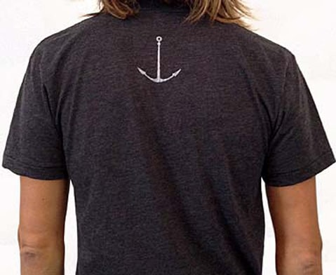 """ANCHOR"" SMALL LOGO TEE"