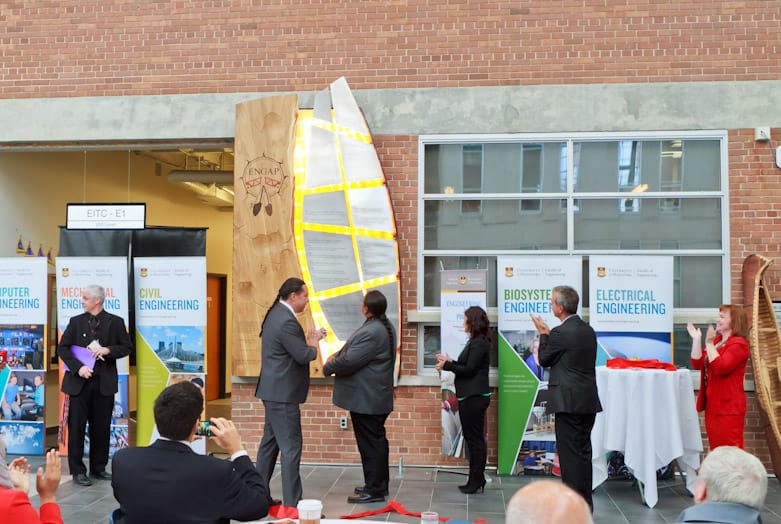 ENGAP 30th ANNIVERSARY DISPLAY - Faculty of Engineering University of Manitoba, Winnipeg, Canada – Dave Thomas Ayshkym Engineering
