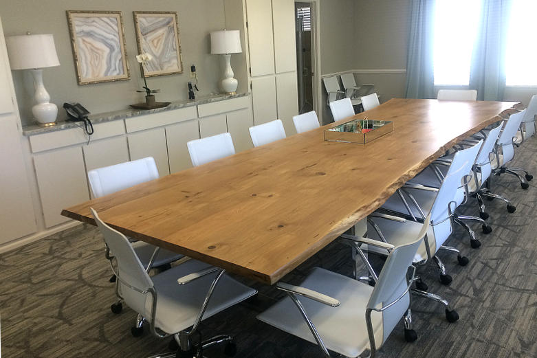 solid-oak-conference-table